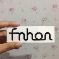 CUTTING STICKER FRAME SEPEDA FNHON GUST