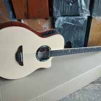 Gitar akustik elektrik yamaha apx pink