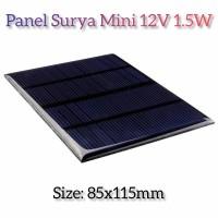 Panel Surya / Solar Cell 12V 1.5W Tenaga Matahari mini DIY