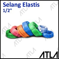 Selang Air Elastis 1/2 Elastic Udara Aquascape 1/2 Inch 12 mm IH014