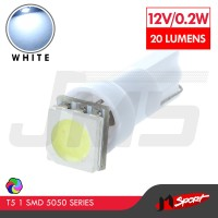 Lampu LED T5 1 SMD 5050 Light Bulb - White