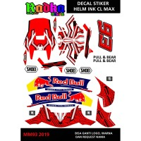 Decal stiker Helm ink Cl Max
