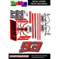 Decal stiker Helm MM93 Universal