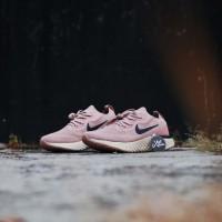 Nike Epic React Flyknit Womens Pink Navy 13249