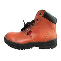 Sepatu Safety Murah / Safety Shoes Track Raktayoo TR 016C (Coklat)