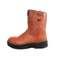 Sepatu Safety Murah / Safety Shoes Track Raktayoo TR 004C (Coklat)