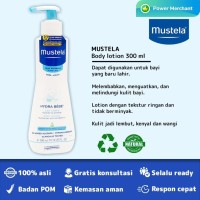MUSTELA HYDRA BEBE BODY LOTION BPOM - 300 ML