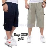 Celana Pendek / Celana Pendek Pria Cargo 7/8 Katun Boss