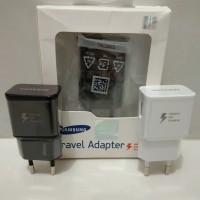 Kepala/Batok charger Samsung S6 S7/Note 4 5 fastcharging original 100% - Putih