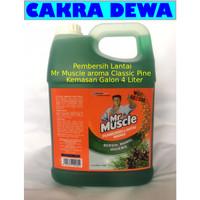 MR MUSCLE Cairan Pembersih Lantai Axi Triguna aroma Classic Pine 4 ltr
