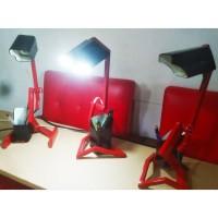 Lampu Meja Belajar Besi Ada Tempat Pensil dan Bisa Di setel