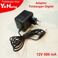 Adaptor Timbangan Digital Charger Timbangan 12V 500 mA