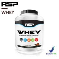 Suplemen Fitness RSP Whey Protein Powder 4.6lbs Isolate BCAA Amino
