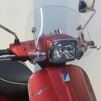 Flyscreen Clear Original Vespa S / Kaca Depan