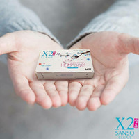 Softlens X2 Sanso Clear monthly
