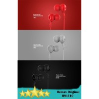 Remax RM-510 Touch Music Wired Earphone with Mic 3.5mm Concave Connex