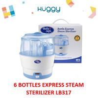 Baby Safe LB317 Bottle Express Steam Sterilizer Alat Steril - No Bubblewrap
