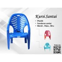 Kursi Plastik Murah Napoly - Kursi Santai - Kursi Taman Plastik Medan