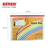 KENKO PVC ZIPPER BAG ZB-2433 A4