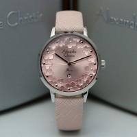 Jam Tangan Wanita Alexandre Christie AC 2794 Silver Pink Original