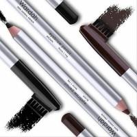 Wardah Eyebrow Pencil Alis Original