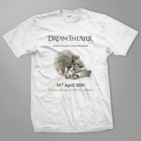 Kaos Band Rock Dream Theater Distance Over Time Tour - DT51 WH