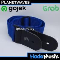 Strap Daddario Planet Waves PWS 102 PWS-102 Gitar Warna Biru