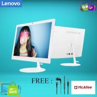 """PC Lenovo AIO 330-20AST - 6FID A4-9125/4GB/1TB/19.5""""/WIN10/DVDRW"""