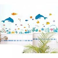 wall stiker sticker ocean fish