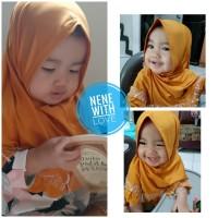 Jilbab Bayi Renda Princess Anak Kerudung Bayi Hijab Premium
