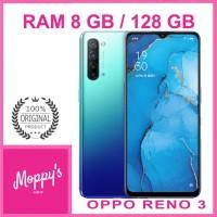 OPPO RENO 3 RAM 8GB ROM 128GB GARANSI RESMI OPPO INDONESIA