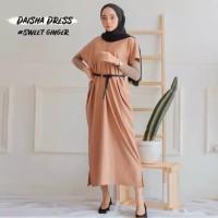 Kaftan daisha XL tunik dress wanita busana muslim daisa outer premium