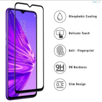 REALME 5i PREMIUM TEMPERED GLASS 5D FULL COVERED GLUE