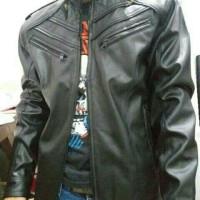 Terbaru Jaket Kulit Mondy AJ Bigsize Size S M L XL 2XL Cas