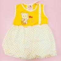 Dress singlet Baju Bayi Perempuan 0-12 bulan karakter hewan