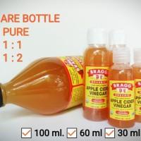 BRAGG Apple Cider Vinegar 100 ml - Cuka Apel [ TONER 1 : 2 ]