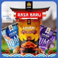 BEST SELLER - Makaroni Kakarak Original Rasa Rendang Udang Cumi