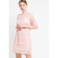 Dress Wanita EDITION ED10PINK Lace