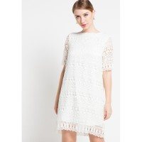 Dress Wanita EDITION ED10WHITE Lace