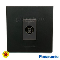 Panasonic Stop KontaK TV WESJ78019B + WEJ2501H Outlet TV Matte Black