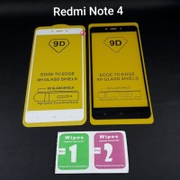Tempered Glass Xiaomi Redmi Note 4 Full Layar 5D / 9D /11D