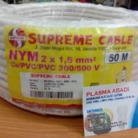Kabel NYM Supreme 2x1,5 mm @ 50m
