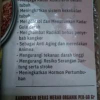 Beras Hitam & Beras Merah Organic / Original
