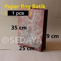 paper bag batik sedang