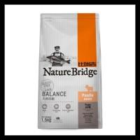 PROMO CP PETFOOD NATURE BRIDGE POODLE PUPPYY DOG FOOD - 1.5KG TERLARIS