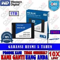 SSD WD Blue 1TB 100% ASLI / ORIGINAL DAN BERGARANSI RESMI
