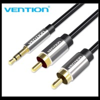 Vention Bcf 1M Kabel Audio 3.5Mm Male To 2 Rca Male High Quality