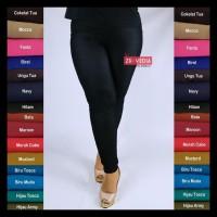 Legging Jeans Kantong Uk Jumbo // Fit To Xxl Celana Dewasa Jumbo