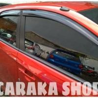 kualitas Talang Air Slim BRIO Side Visor Black Sidevisor Hitam Honda