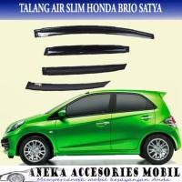 kualitas Talang Air/Side Visor Slim Mobil Honda Brio Satya terbaik